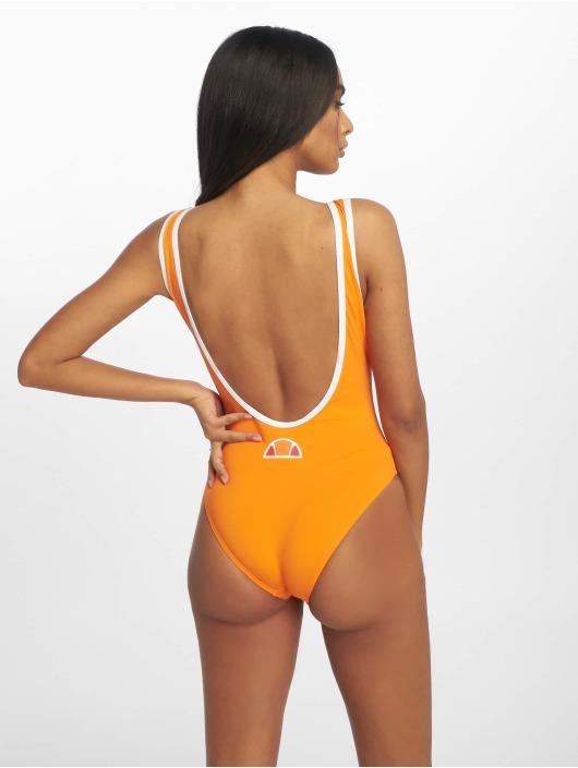 Ellesse Badeanzug Logo orange