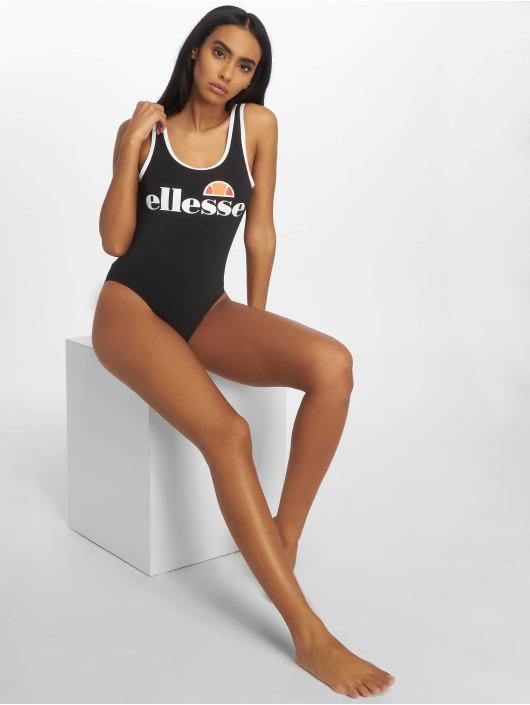 Ellesse Badeanzug Logo schwarz