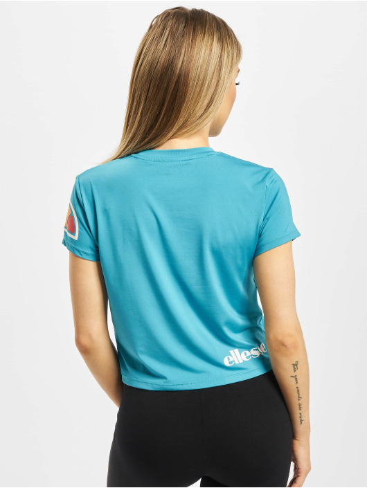Ellesse Sport T-Shirt Hepburn Crop blau