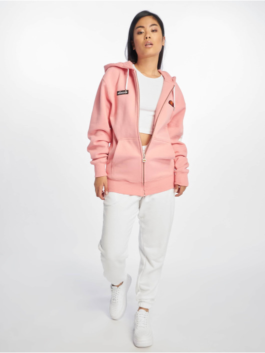 Ellesse Sweat capuche zippé Serinatas rose