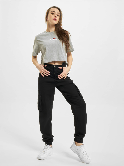 Ellesse T-Shirt Fireball Crop grey