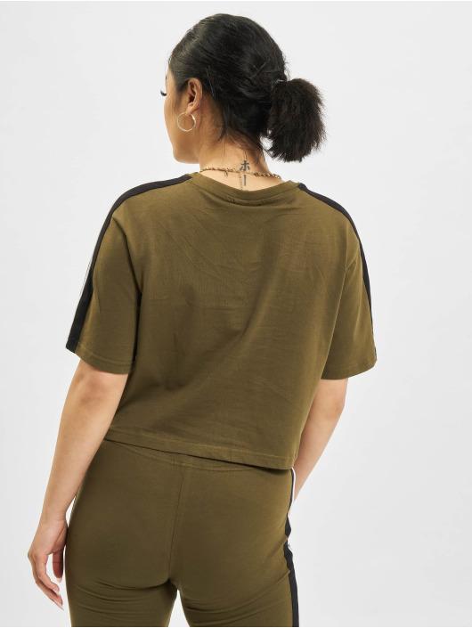 Ellesse T-Shirt Amarillo Crop khaki