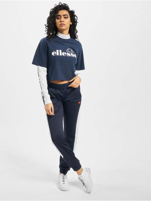 Ellesse T-Shirt manches longues Naz bleu