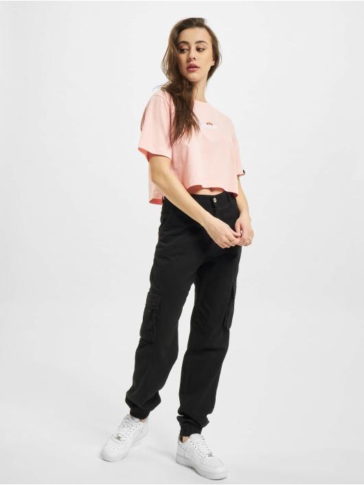 Ellesse T-Shirt Fireball Crop pink