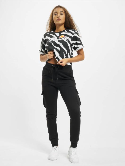 Ellesse T-Shirt Rerta Crop schwarz