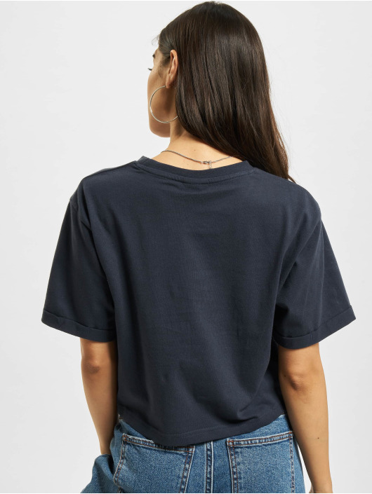 Ellesse Alberta Cropped T Shirt Dress Blues