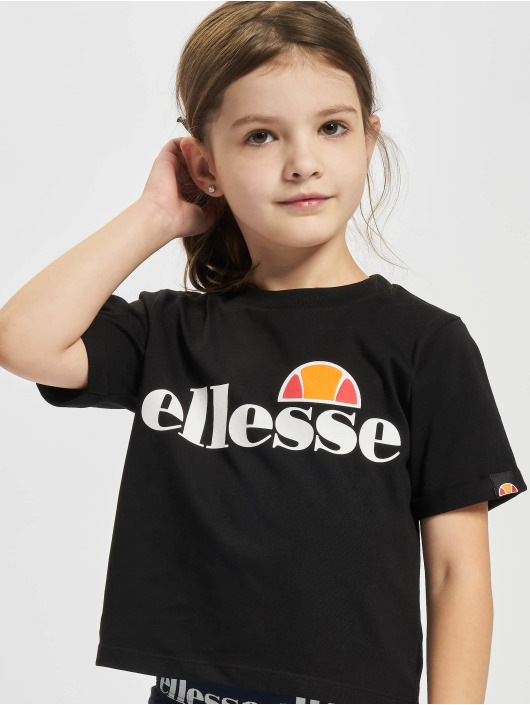 Ellesse T-Shirty Nicky Crop czarny