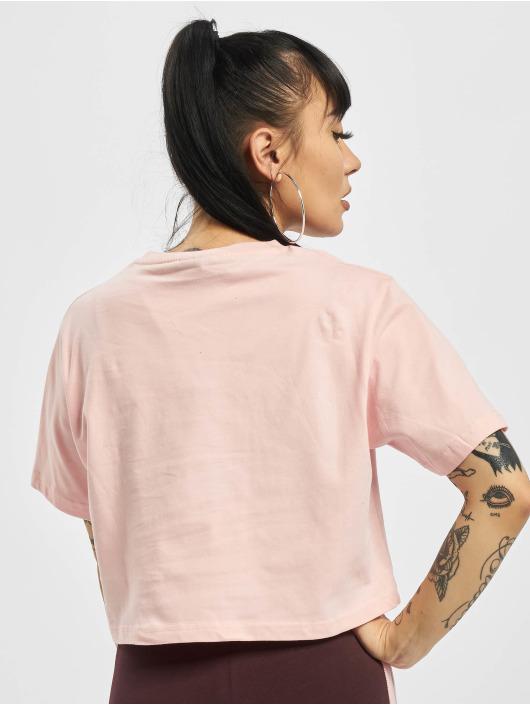 Ellesse T-Shirty Deway Crop rózowy