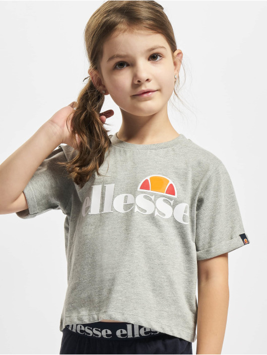 Ellesse T-Shirty Nicky Crop szary