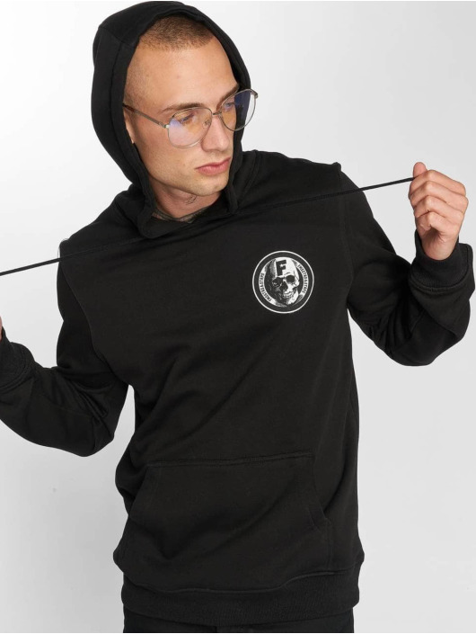Famous Stars and Straps Hoody Heaven Hitters schwarz