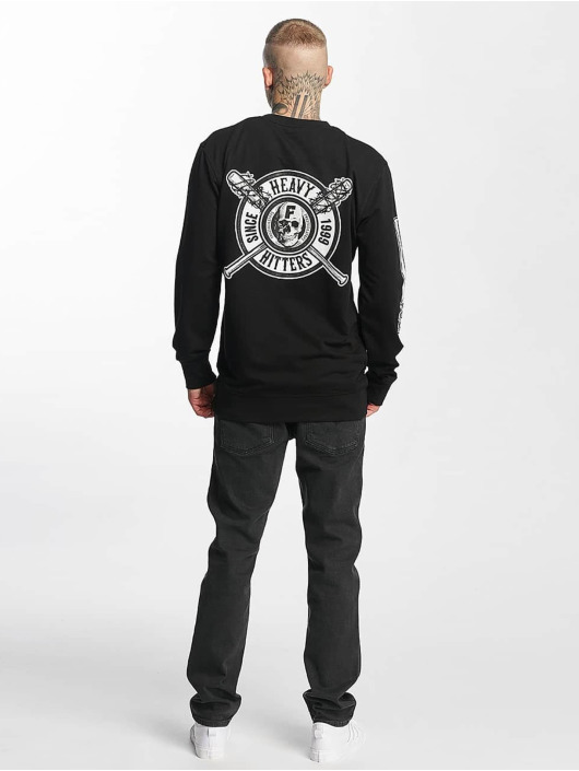 Famous Stars and Straps Pullover Heavy Hitters schwarz