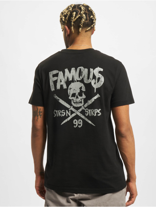 Famous Stars and Straps T-Shirt Stick It black