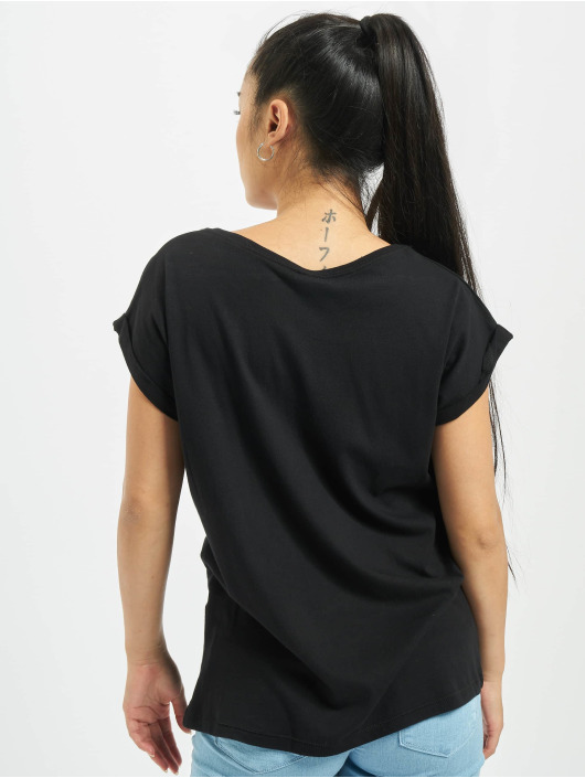 Famous Stars and Straps T-Shirt Ladies Buffalo schwarz