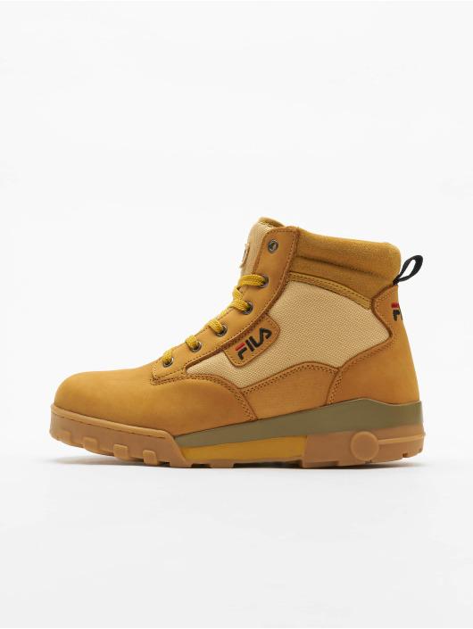 FILA Ботинки Heritage Grunge II Mid коричневый