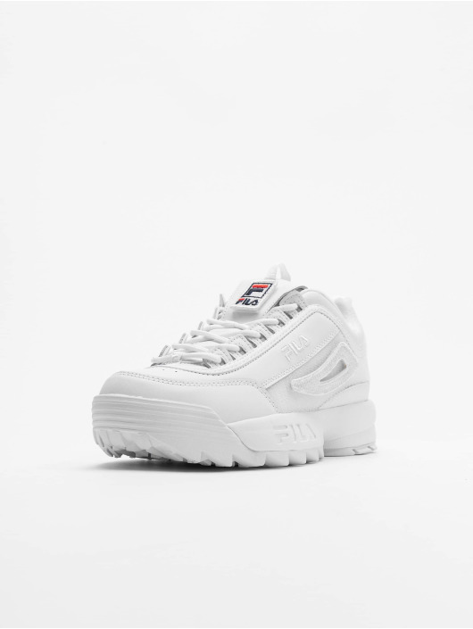 FILA Сникеры Heritage Disruptor II Patches белый
