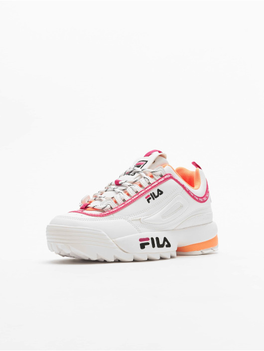 FILA Сникеры Heritage Disruptor Logo Low белый