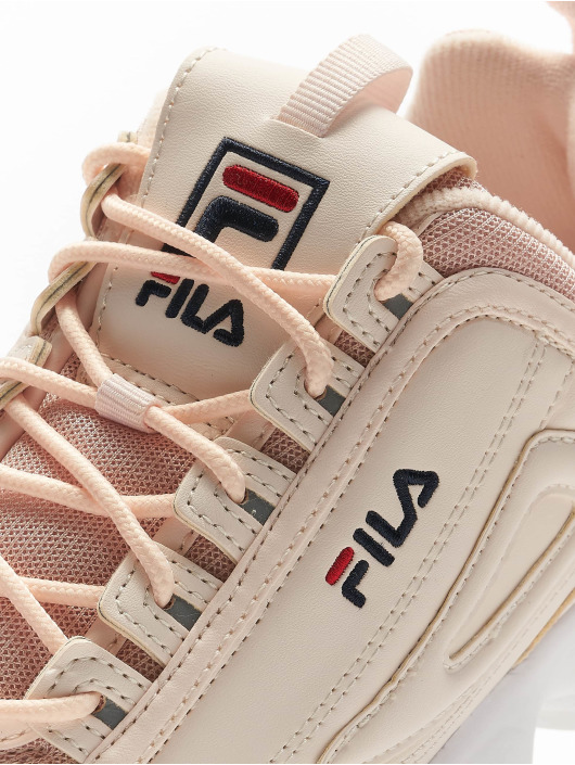 FILA Сникеры Heritage Disruptor Low розовый