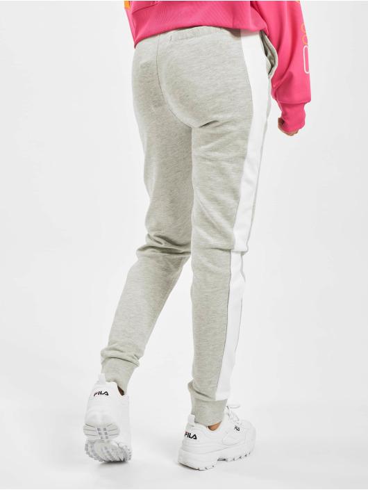FILA Active Damen Jogginghose Bianco in schwarz elastischer