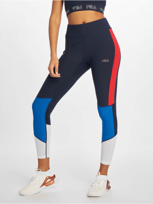Fila Active Wanda Gym Tighs Wmn Up Black I.lapsi BlueTrue Red