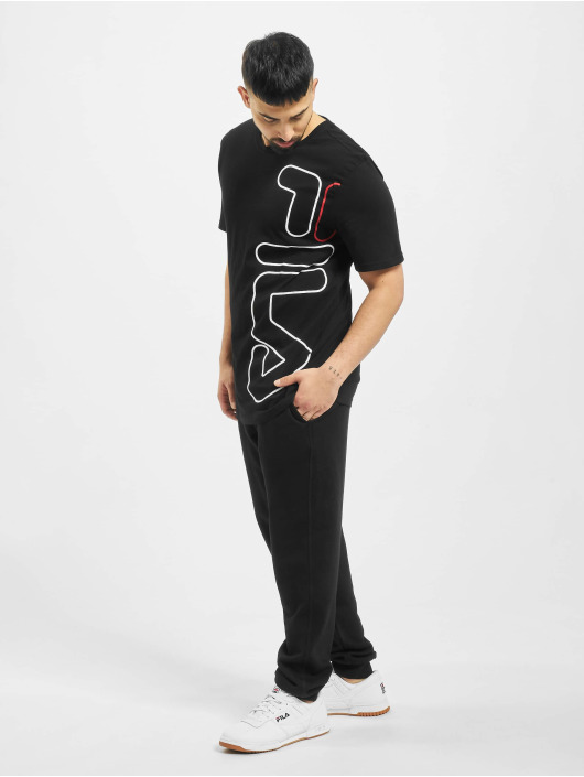 FILA Active T-Shirty Active UPL Naude czarny