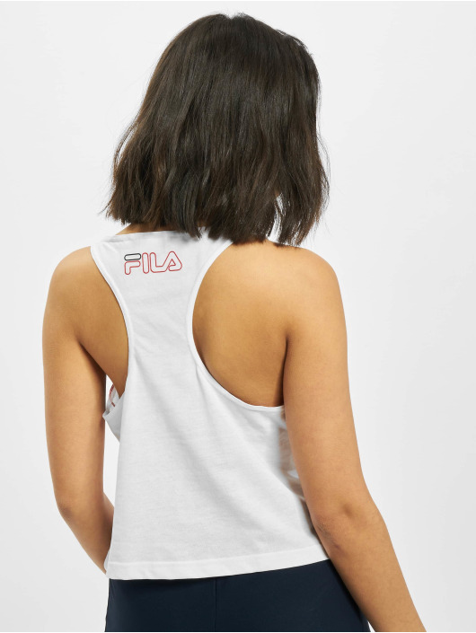 FILA Active Tank Tops Active UPL Lesley Cropped valkoinen