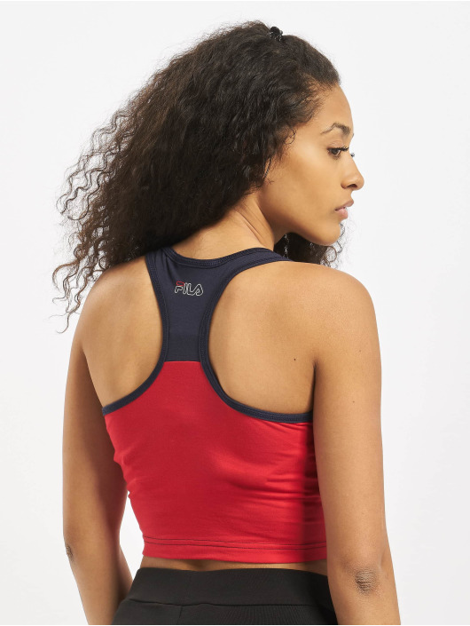 FILA Active Top Active UPL Lacy Cropped blue