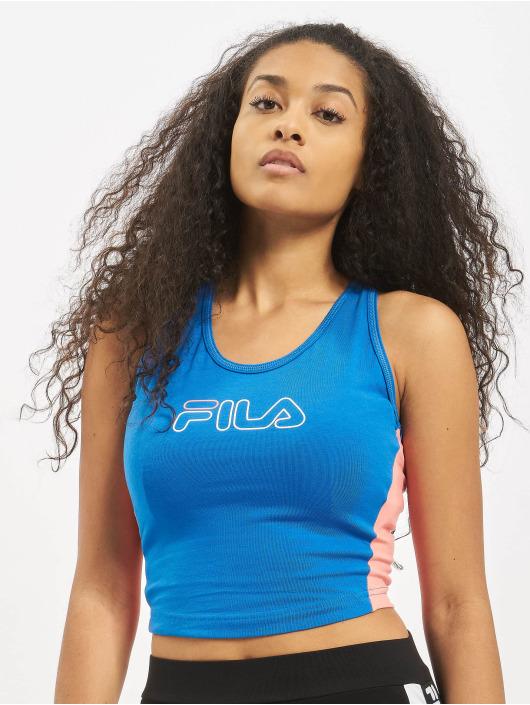 FILA Active Topper Active UPL Lacy Cropped blå