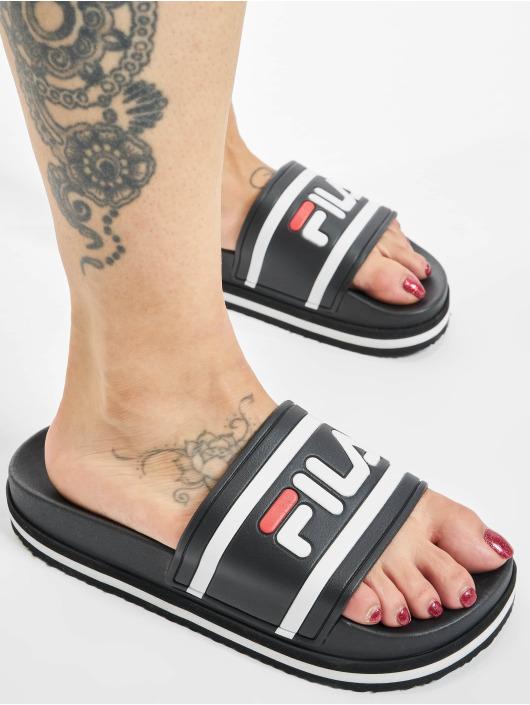 FILA Badesko/sandaler Morro Bay Zeppa svart