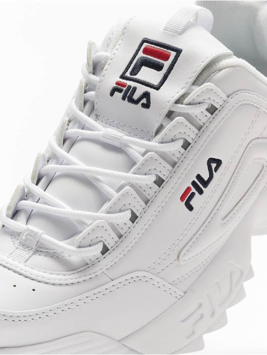 FILA Baskets Heritage Disruptor Low blanc
