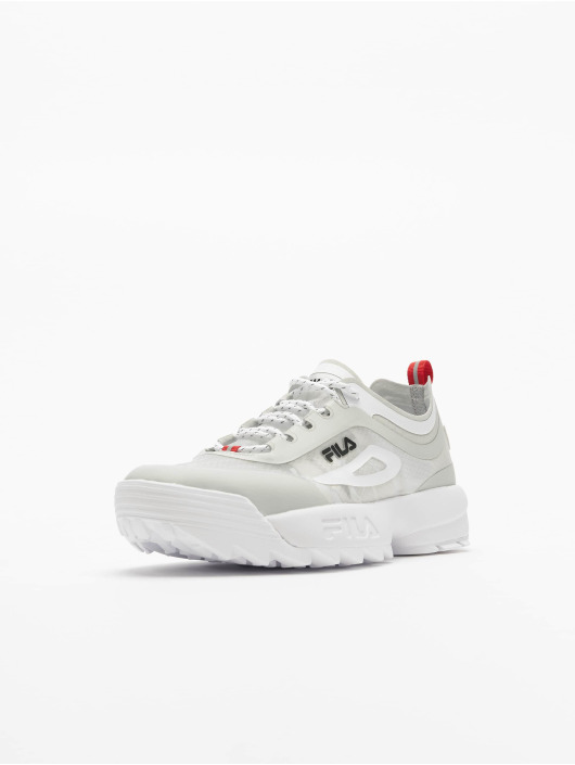 FILA Baskets Heritage Disruptor Run blanc