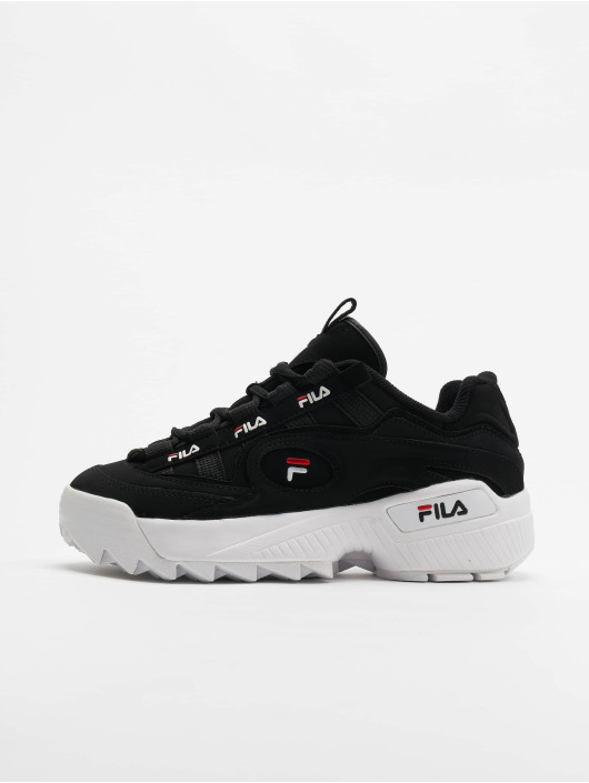 FILA Baskets Heritage D-Formation noir