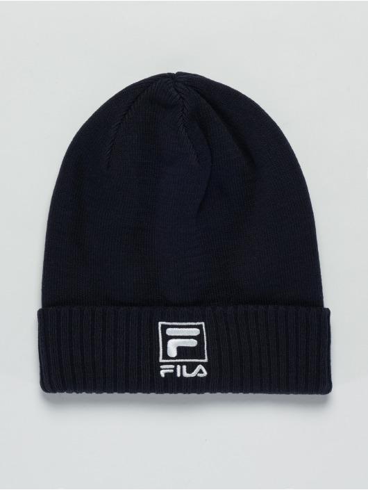 FILA Beanie Slouchy F-Box blå