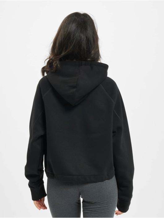 FILA Bluzy z kapturem Bianco Elaxi Cropped czarny