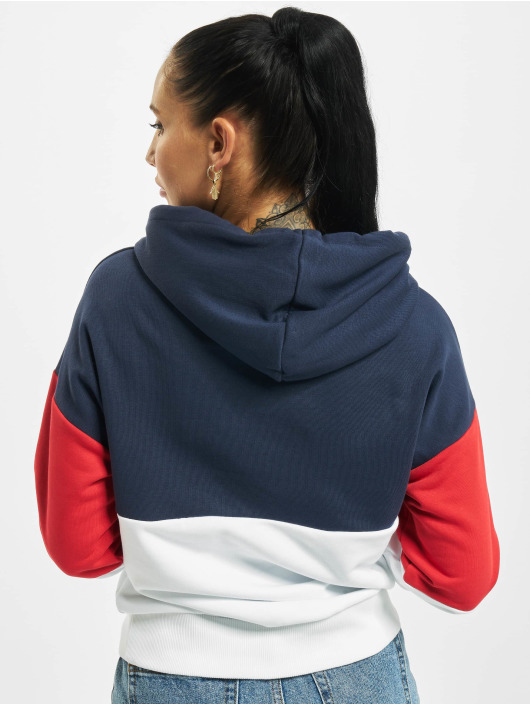 FILA Bluzy z kapturem Bianco Sanja Cropped niebieski
