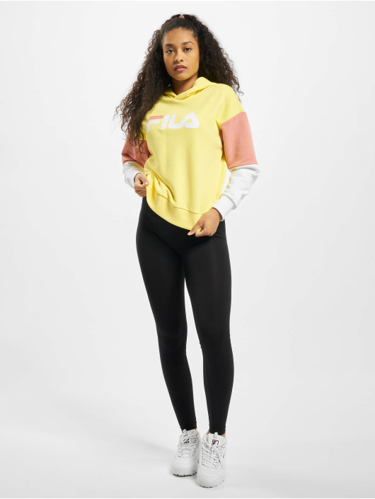 FILA Bluzy z kapturem Barret Cropped zólty