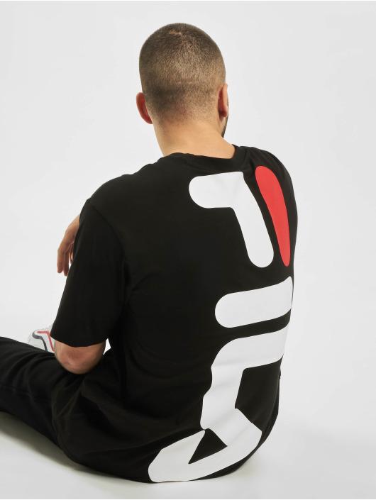 FILA Camiseta Line Anatoli Dropped Shoulder negro
