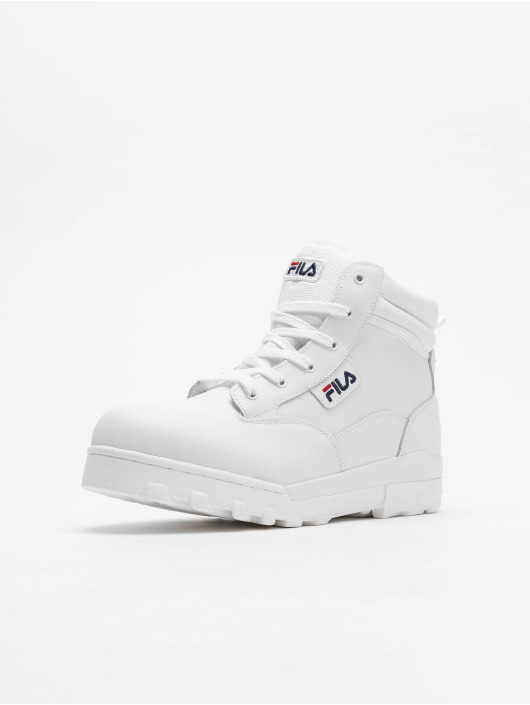 e5e9e3cf30392a FILA | Grunge L blanc Homme Chaussures montantes 614989