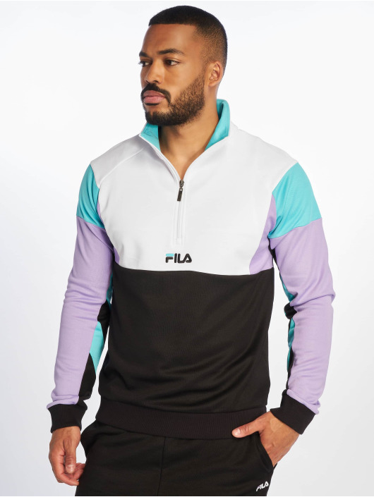 FILA Jumper Urban Line Keith Half Zip black