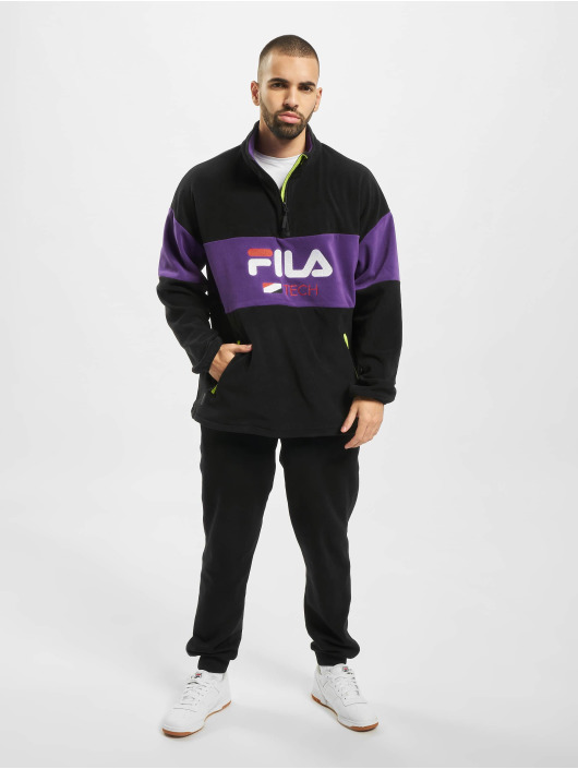 FILA Jumper Urban Line Half Zip Fleece black