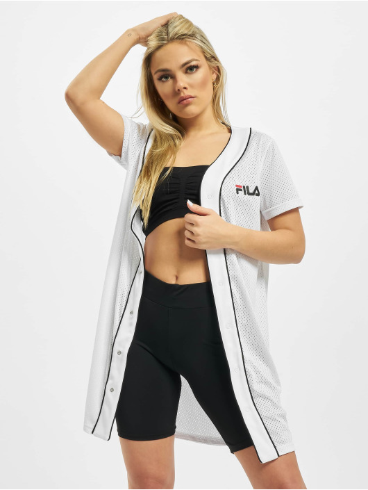 FILA Kleid Urban Line Robin Button Baseball weiß