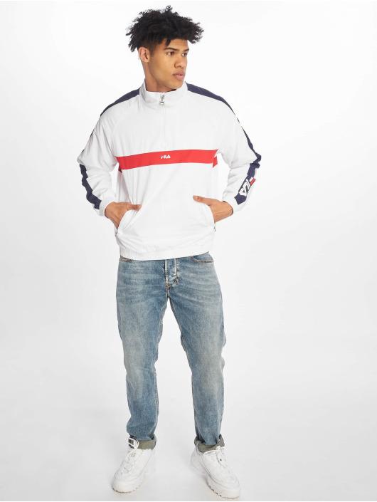 FILA Lightweight Jacket Line Jona Woven Half-Zip white