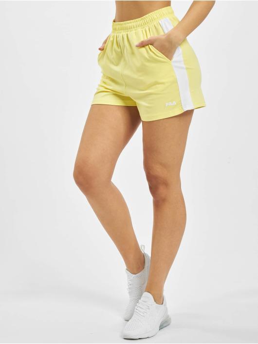 FILA Pantalón cortos Badu amarillo