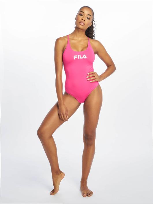 FILA Plavky Urban Line Saidi pink