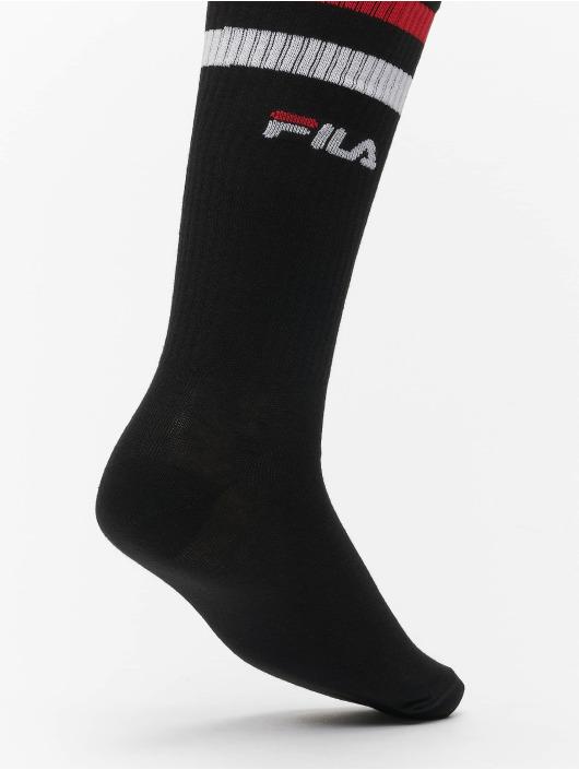 FILA Ponožky Basket 2 Pack èierna