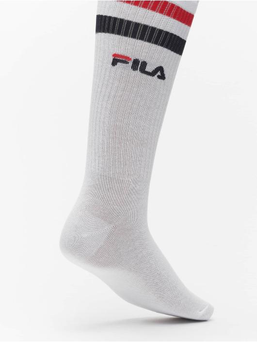 FILA Ponožky Basket 2 Pack biela