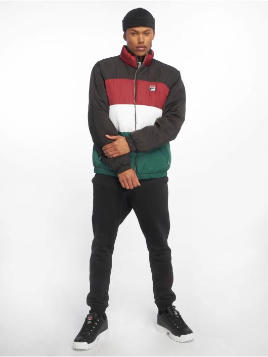 FILA Puffer Jacket Neo Colour Blocked black