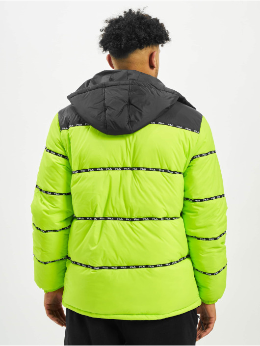 FILA Puffer Jacket Urban Line Tatsuji gelb