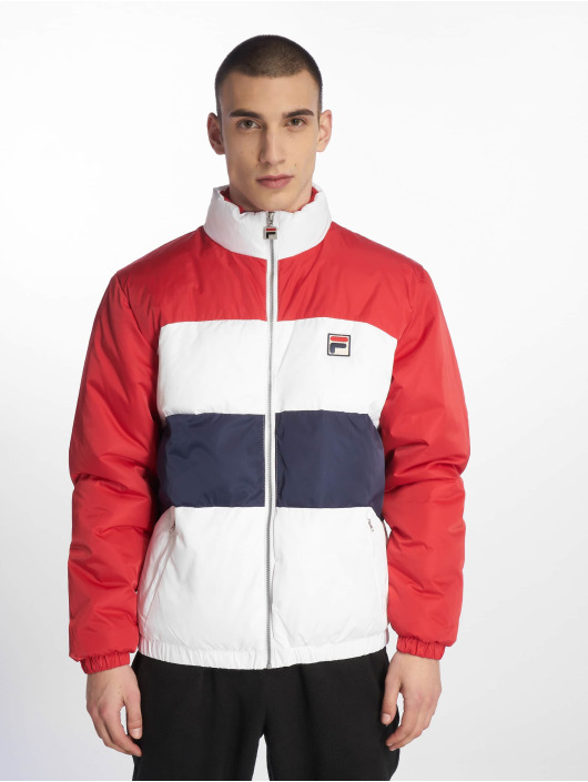 FILA Puffer Jacket Neo Colour Blocked rot