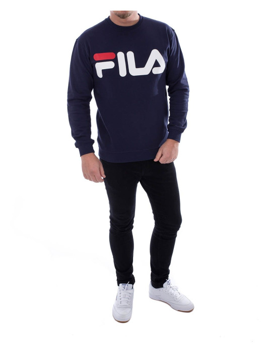 FILA Pullover Classic Logo blau