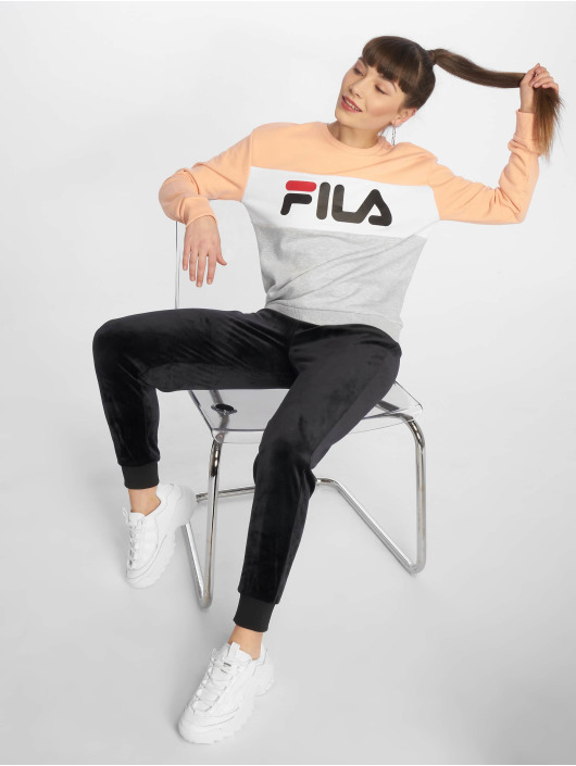 FILA Pullover Line Leah grau
